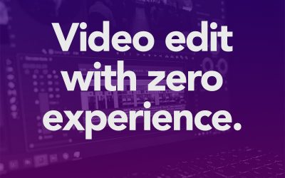 Video Editing for Pre-Recorded Service