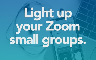 Run A Zoom Small Group