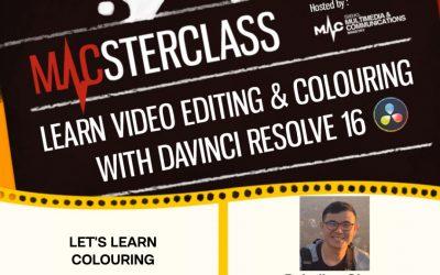 Video-Edit & Colour With DaVinci Resolve